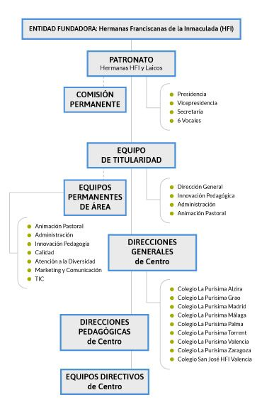 organigrama fundacion efi