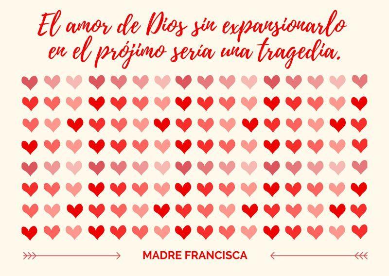 corazones madre francisca